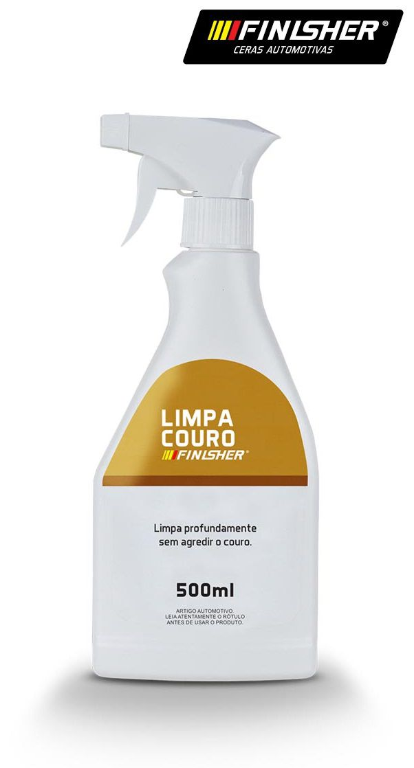 Limpador e hidratante de couro Finisher Limpa Hidrata