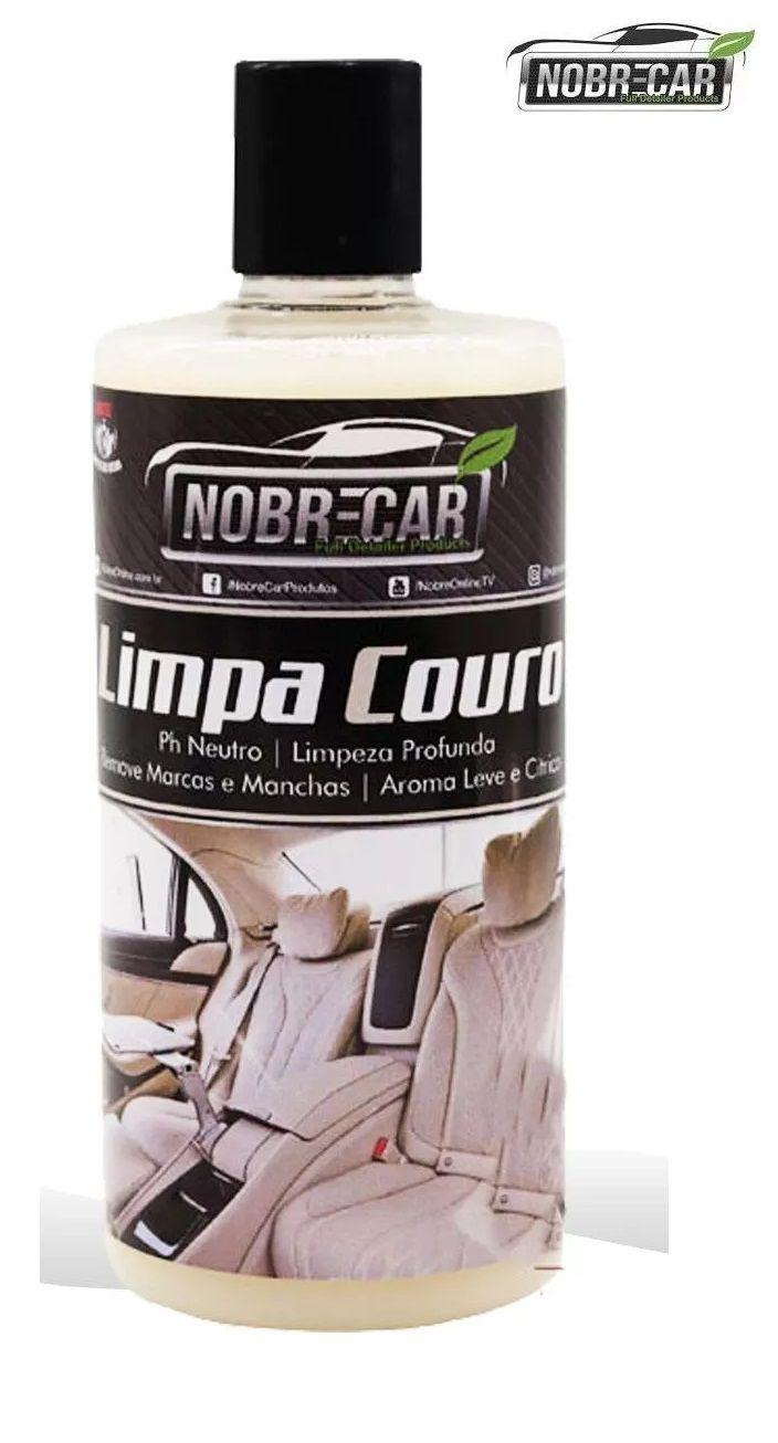 Limpador / higienizador de Couro Automotivo 500ml Nobre Car