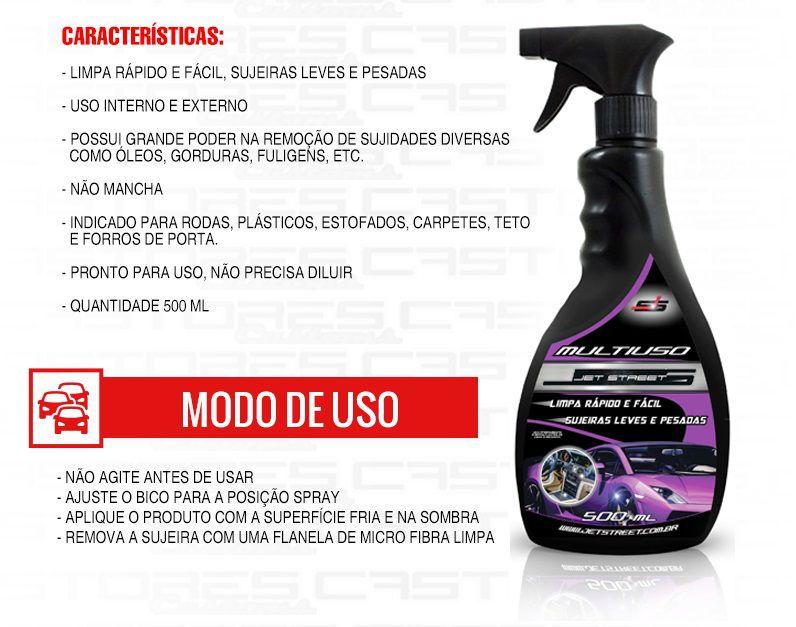 Limpador Multiuso Multiação Apc 500ml Spray Jet Street