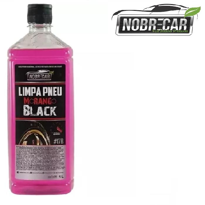Limpador Protetor Abrilhantador Pneus Morango Black 1L Nobre Car