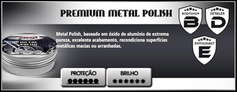 Metal Polish Polidor De Metais 100g Scholl Concepts