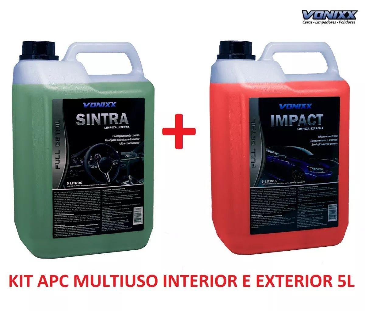 Multi Uso Apc Impact + Sintra Limpeza Ext. Int. 5l Vonixx