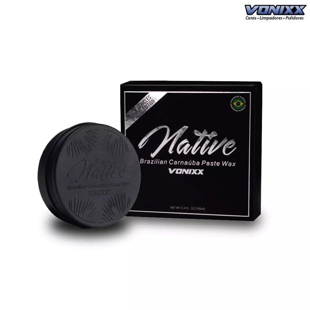 Native Brazilian Carnaúba Paste Wax – Black Edition (100ml) Vonixx