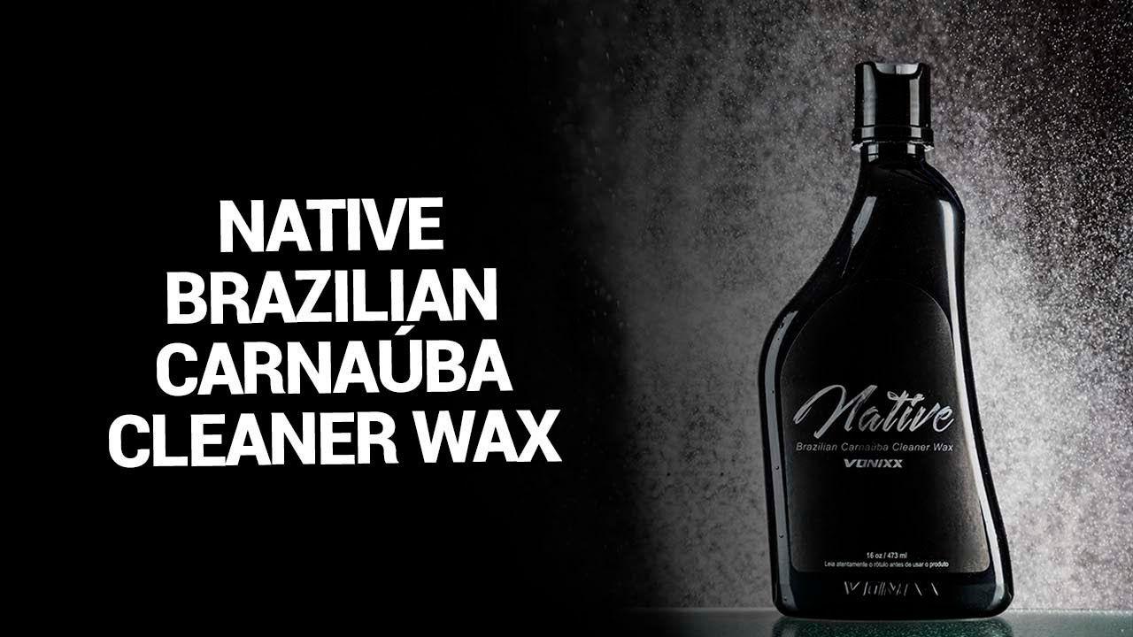 NATIVE CLEANER WAX 473ML VONIXX