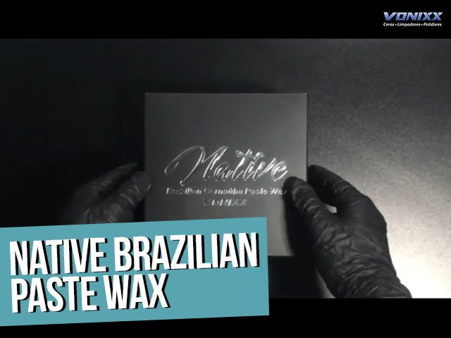 Native Paste Wax 235ml Vonixx Carnauba Brazillian Pura + Microfibra 40x60