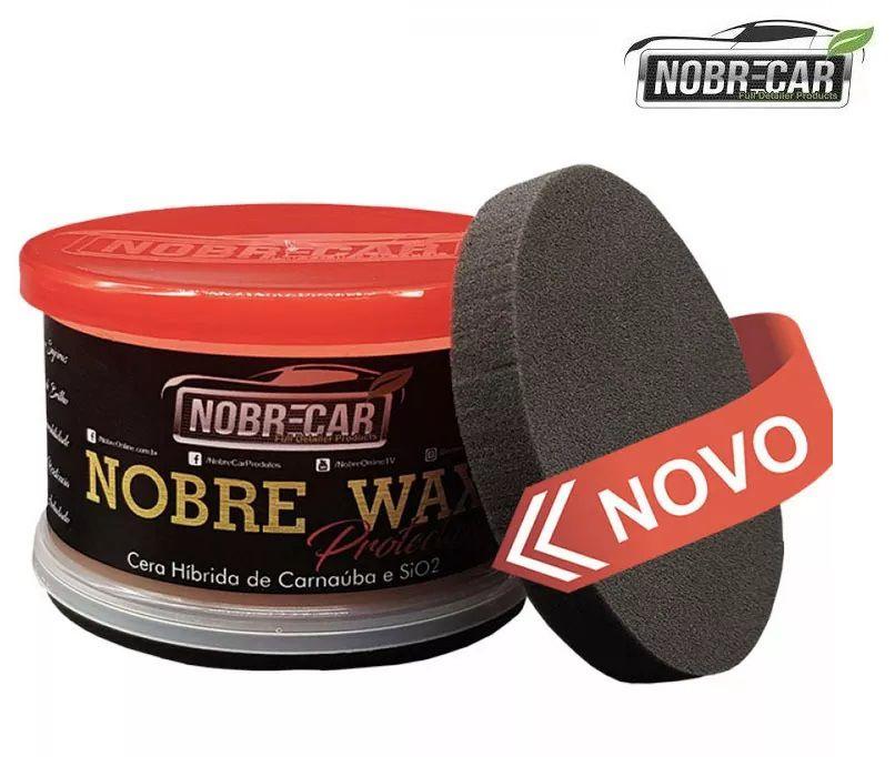 Nobre Wax Protection 350g Cera De Carnaúba E Sio2 Nobre Car