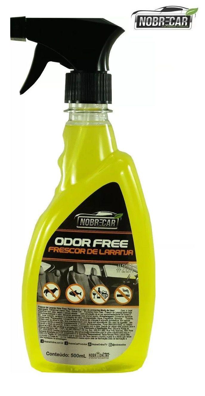 Odor Free Frescor De Laranja Linha Premium 500ml Nobre Car