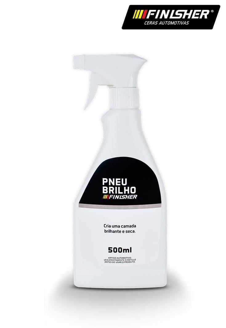 Pneu Brilho 500ml Pretinho Automotivo Finisher Spray