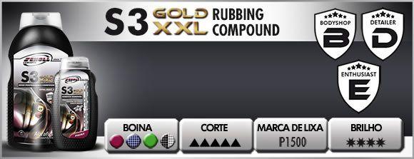 Polidor De Corte Alemão S3 Gold 1 Kg Scholl Concepts
