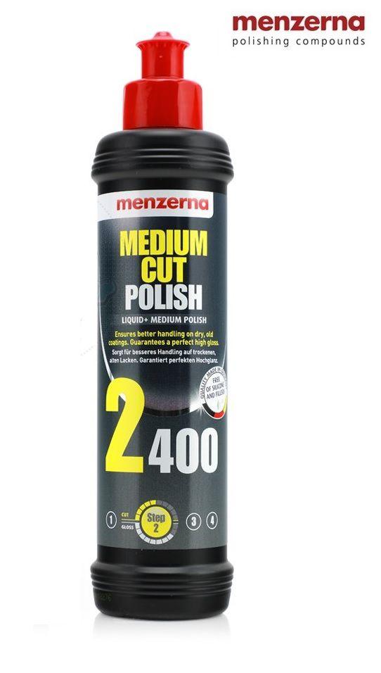 Polidor De Refino Medium Cut Polish 2400 250ml Menzerna