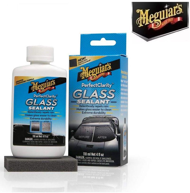 Polidor + Repelente Água Parabrisa Glass Sealant Meguiars