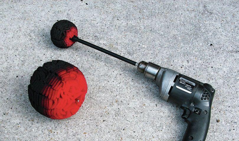 Power Ball Mini Mothers Espuma p/ Polimento De Metais