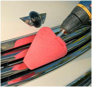 Power Cone 360 Mothers Ferramenta p/ polimento de rodas e quinas