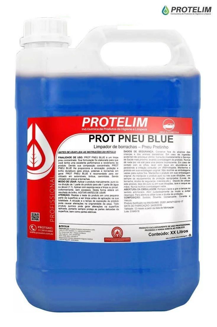 Pretinho Prot Pneu Blue 5l Protelim Brilho