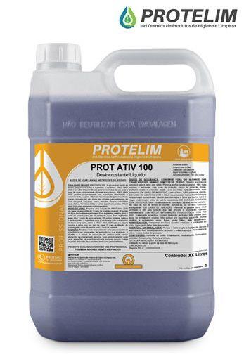 Prot Ativ 100 Protelim Limpa Bau Roxo 5L limpador 1:20 desen