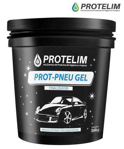 Prot Pneu Gel Protelim 3,6kg proteção acabamento brilho