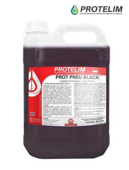 Protelim Prot Pneu Black 5L Pretinho proteção brilho