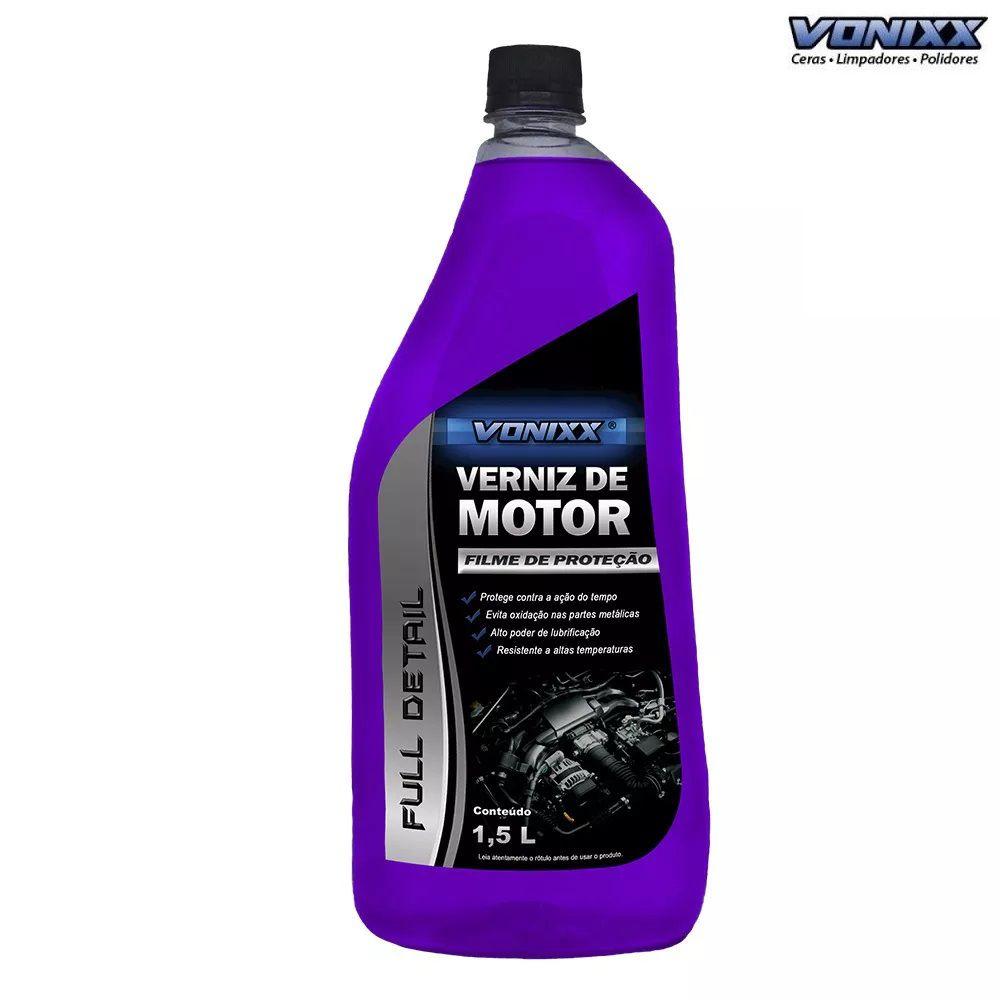 PULVIFLEX 5L VONIXX + VERNIZ DE MOTOR 1,5L VONIXX