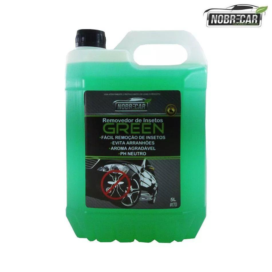 Removedor Insetos Vidros Pintura Grade Green 5L Nobre Car