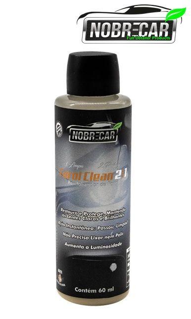 Restaurador Farol Clean 2 em 1 Limpa e Protege Nobre Car