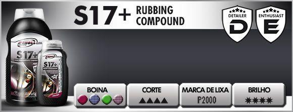 S17 Composto Polidor De Corte Pesado 1 Kg Scholl Concepts S17+
