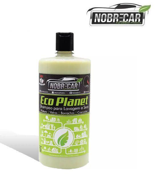 Shampoo Com Cera Para Lavagem A Seco Eco Planet 1l Nobre Car