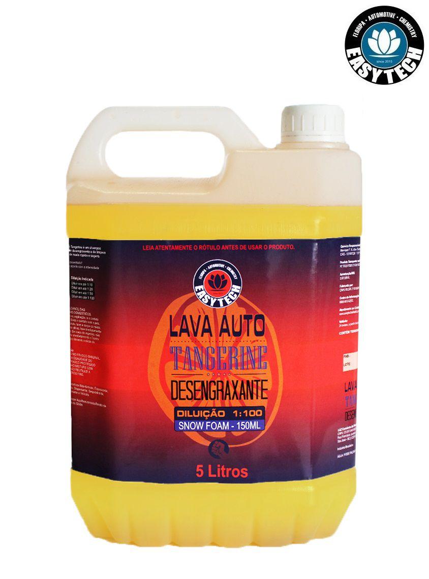Shampoo Desengraxante 1:100 Tangerine Concentrado 5L Easytech