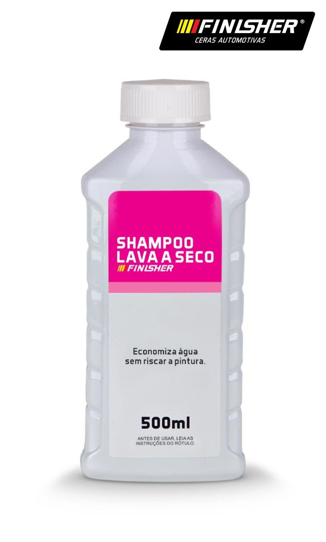 Shampoo Lava A Seco Carro 500ml Finisher Alto rendimento cer