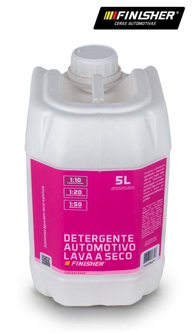 Shampoo Lava A Seco Carro 5L Finisher Alto rendimento cera