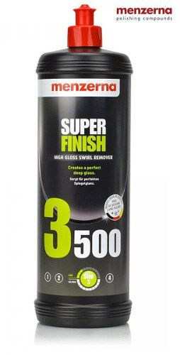Super Finish 3500 Sf4000 Sf 1l Lustrador Menzerna + Polidor Medium Cut Polish Pf2500 1l Menzerna