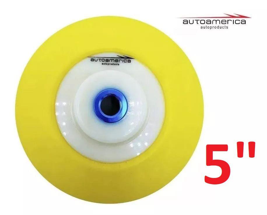 Suporte Boina De Espuma Com Velcro 125mm 5 pol Autoamerica
