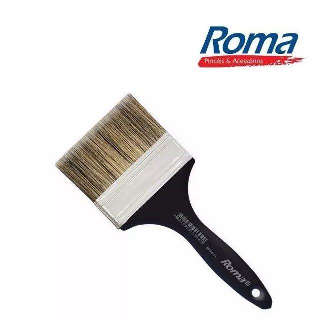 "Trincha Pincel Pintura 301 / 3"" Grisalhos Roma pretinho"
