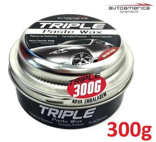 Triple Wax Autoamerica 300g + Clay bar + 03 microfibras + 04 aplicadores