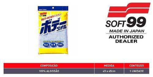 Ultra Glaco Fusso Repelente Cleaner Água Longa Duração 70ml + Toalha New Body Tower Algodão 45x45cm Soft99
