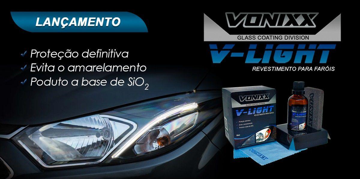 Vitrificador Para Faróis V-light 50ml Vonixx Revestimento