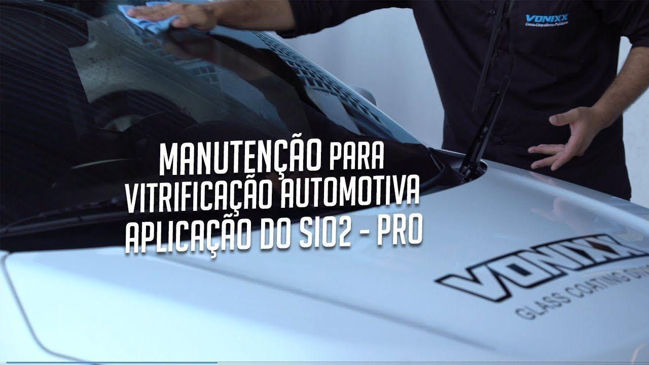 V-paint Vitrificador 20ml Vonixx + Sio2-PRO Manutenção 500ml