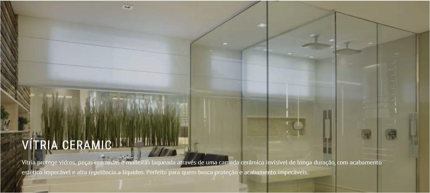 Vitria 30ml Nano Vidros Box Banheiro cristalizador repelente Easytech