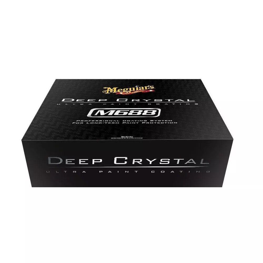 Vitrificador Pintura Deep Crystal M688 Meguiars + Top Coat
