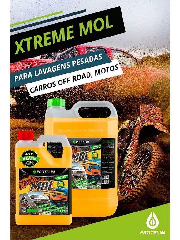 Xtreme Mol 5L Detergente Desengraxante Automotivo Protelim