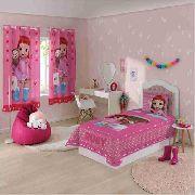 Jogo de Cama 2 Peças Infantil Menina Rainbow Ruby Lepper