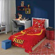 Jogo de Cama 2 Peças The Flash Liga Da Justiça Lepper