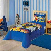 Jogo de Cama 2 Peças Infantil Patrulha Canina Azul Lepper