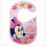 Babador com botão Minnie Disney