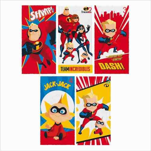 1e9845dabd Toalha de Banho Infantil Super Heróis Os Incríveis Lepper -  PEQUENININHOS.COM