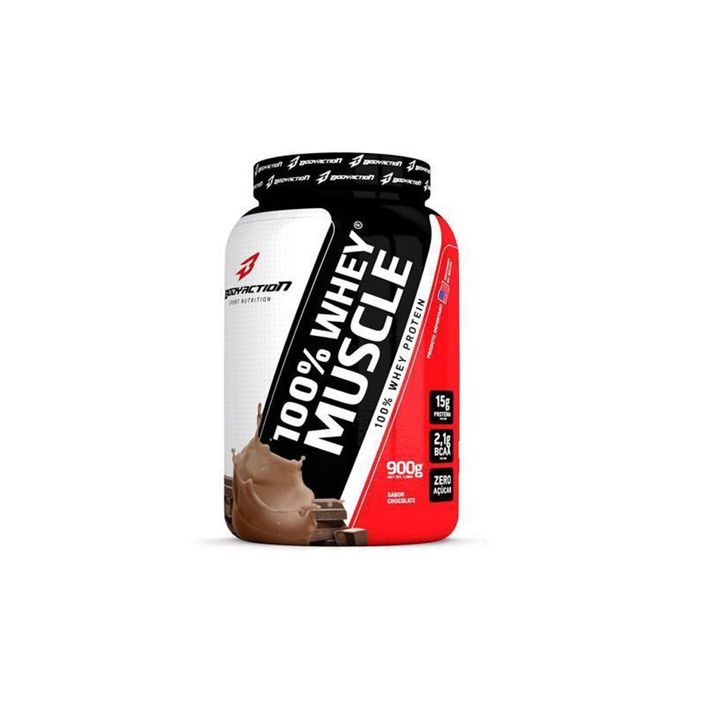 100% Whey Muscle (900g) - Body Action
