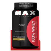 100% Whey (900g) - Max Titanium