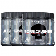 3 Bone Crusher 150g - Black Skull - Yellow Fever