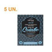 Kit com 5 Sachês Creme de Hidratação profunda Baba de Quiabo - Soft Line