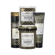 Kit Completo Cabelos Therapya - Silicones Especiais - Kelma 04 itens