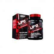 Lipo 6 Black Ultra Concentrate 120 caps - Nutrex